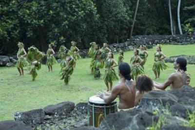 Marquesas dancers