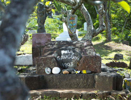 On the Path of Gauguin & Cook