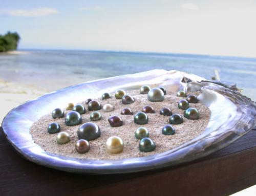 La perle noire de Tahiti