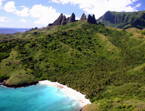 Nuku Hiva, the mysterious island