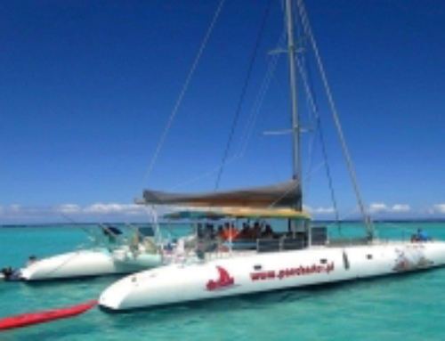 Tahiti, Daytour to Tetiaroa on board the maxi-catamaran Ohana