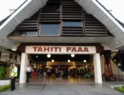 New Shopping & Restaurant Area at Tahiti Airport!