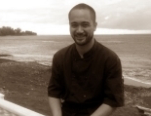 Heiarii Hoiore, Our First Polynesian Gourmet Chef!