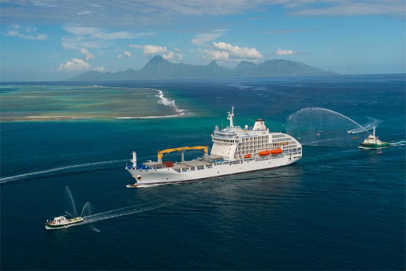 Photo Mixed Passenger and Cargo Ship