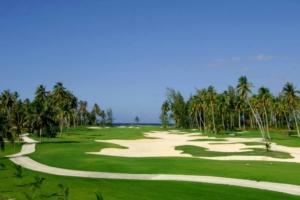 Golf Moorea island