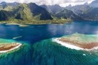 Aerial View of Tahiti Iti