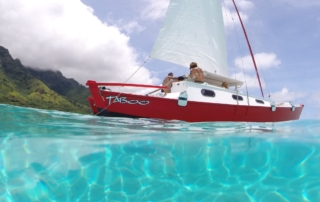 Moorea Sailing Half Day Cruiste Taboo