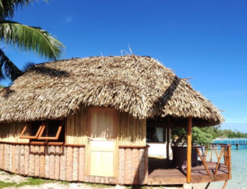 "Hotel Le Mahana Huahine – New bungalow, ""Traditional Fare"""