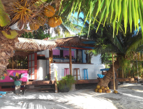 New restaurant at the Raiatea Lodge