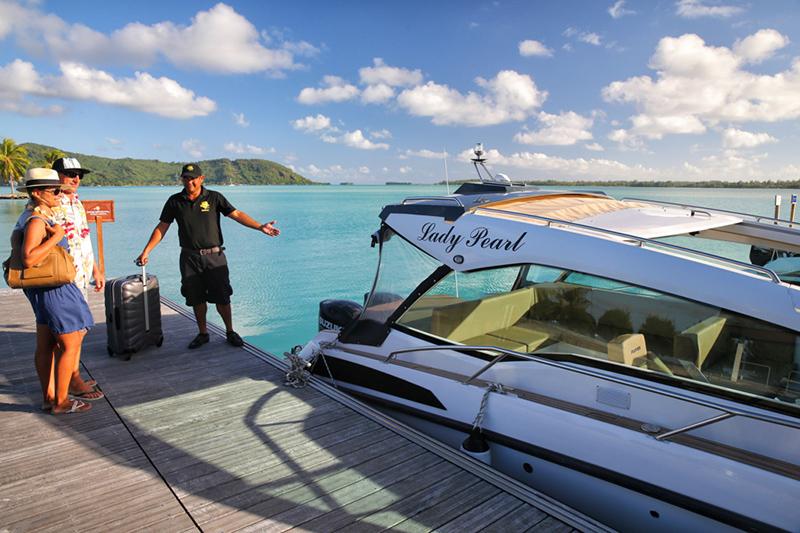 Private Boat Trasfer in Bora Bora
