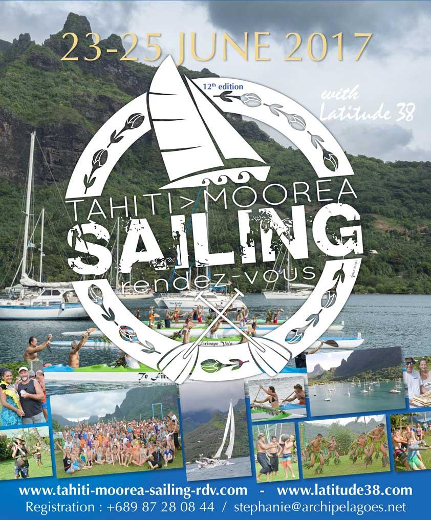 Poster Tahiti Moorea Sailing RDV