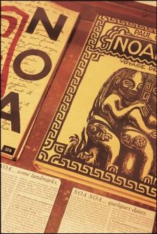 NoaNoa, famous Paul Gauguin's manuscript