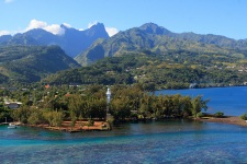 Venus Point in Tahiti and its famous lighthouse
