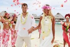 La romance à Bora Bora