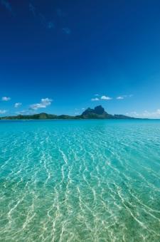 Le lagon de Bora Bora