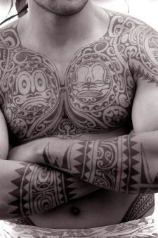The Polynesian Tattoo - a sign of belonging