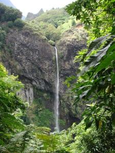 The waterfall of Fautaua