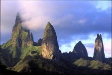 Famous peaks of Ua Pou