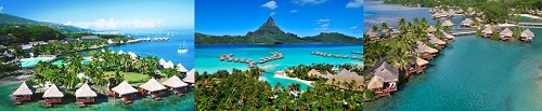 Luxury hotels in French Polynesia