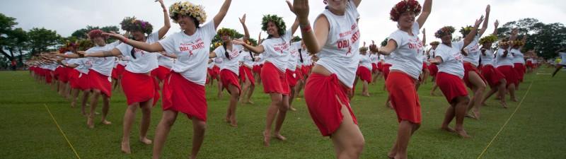 Photo Ori Tahiti Record du monde 2016
