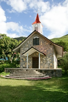 Religious buildings in the further islands