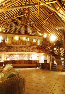 La réception du Bora Bora Pearl Beach Resort