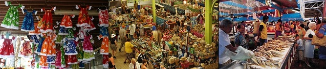 The Market of Papeete