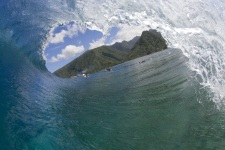 Teahupo'o - the mythical surf spot in Tahiti