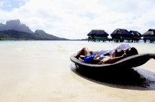 At the Sofitel Bora Bora Marara Beach & Private Island