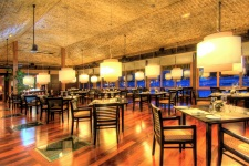 The Lagoon restaurant at the St Regis Bora Bora