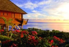 Sublime vue sur l'océan