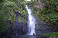 A waterfall of Tahiti