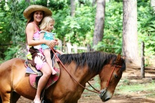 A horseback stroll