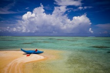 Une plage et un lagon fabuleux