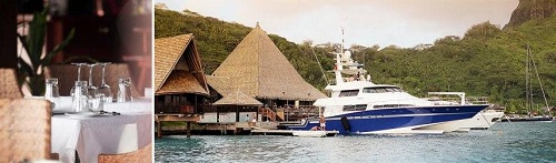 The Maikai Marina & Yacht Club in Bora Bora