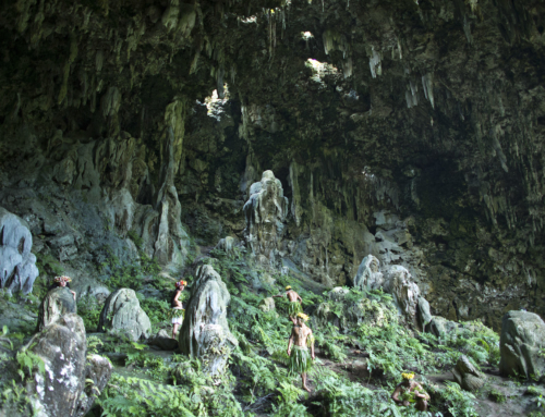 Les grottes de Rurutu