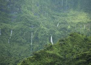 Chutes d'eau de Tahiti