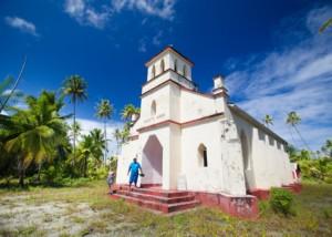 Church in the Tuamotu