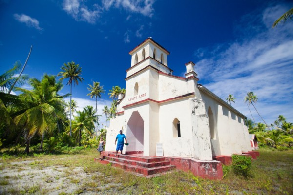 Church in the Tuamotu