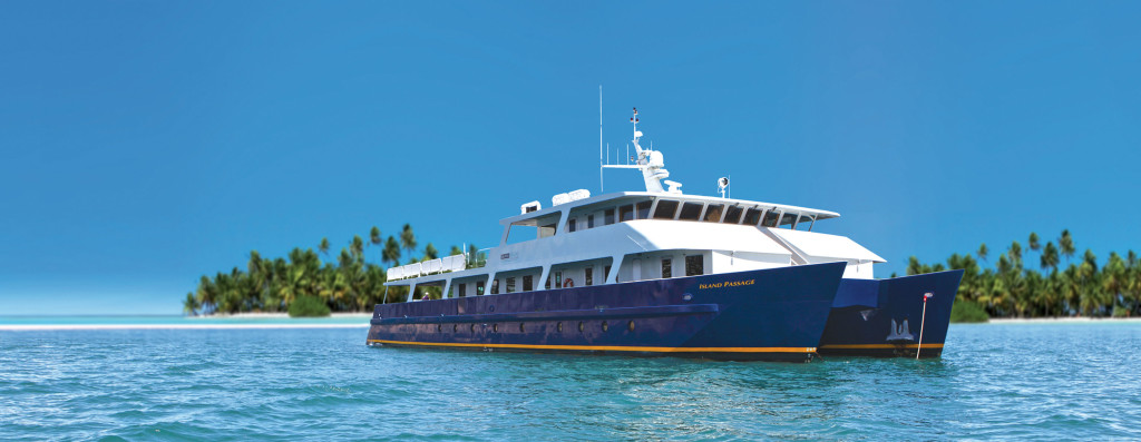 Luxury small ship cruising tahiti nui travel for Luxury small cruise lines