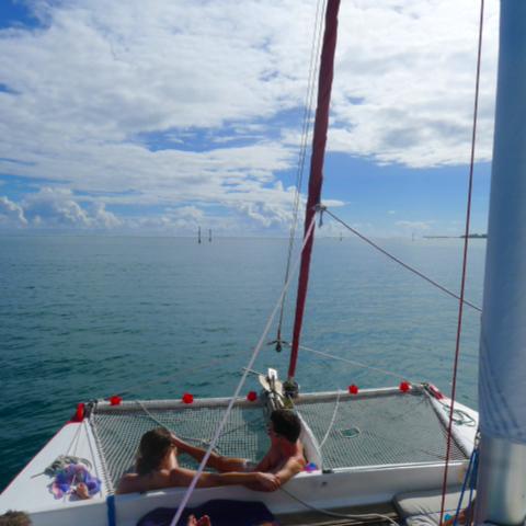Moorea excursion - Taboo Sailing cruise