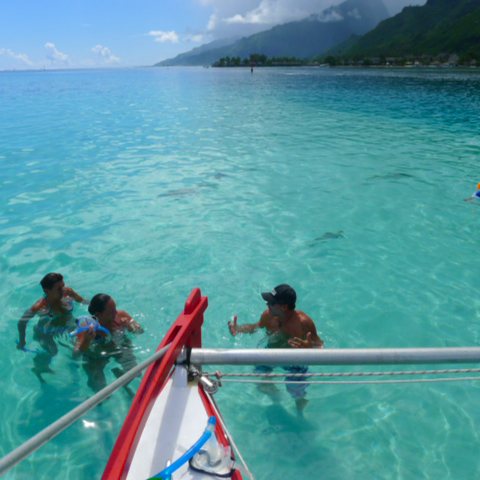 Sailing Excursion in Moorea with the Taboo