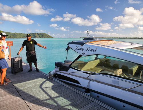 Private boat transfer in Bora Bora