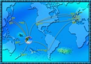 Tahiti & Ses Îles dans le monde