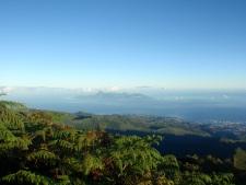 Vue du mont Aorai