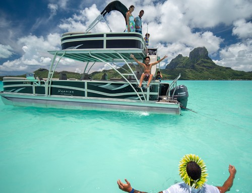 NEW! Waterslide Boat on Bora Bora